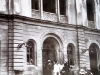 Die Reichspogromnacht - Männer der SA legten in den Morgenstunden das Feuer. Die Linzer Feuerwehr achtete nur auf die umliegenden Gebäude, ein traumatisches Erlebnis für die 10-jährige Ilse. Foto: Diözesanarchiv Linz.