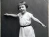 Schon früh wurde Ilse's Talent gefördert. Sie erhielt Tanzstunden im Linzer Brucknerkonservatorium. Quelle: Ilse Mass (privat).
