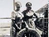 Silvester 1948/49 emigrierte Ilse mit ihrer Mutter auf einem Frachter nach Israel. Quelle: Ilse Mass (privat).