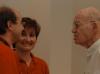 2006 begegneten Kurt und Angelika Schlackl Uri Sela, der als Paul Hartmann in Linz lebte und wie Ilse Mass Hitler beim Einmarsch persönlich sah. Foto: Gerhard Führer (privat).