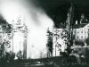 Der Priesterseminarist Franz Mittermayr dokumentiert den Brand des Linzer Tempels. Quelle: Diözesanarchiv Linz.